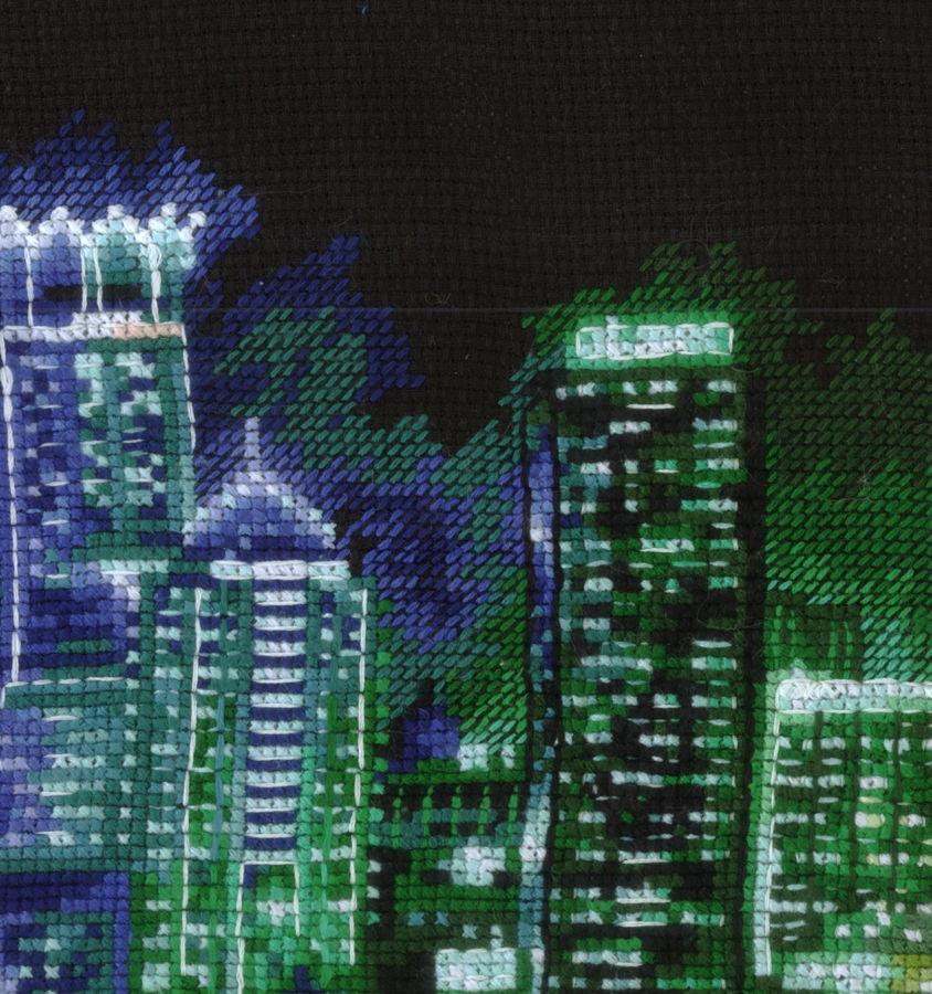 Схемы для вышивки крестом ночной город скачать бесплатно