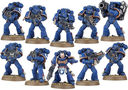 Warhammer 40.000. Space Marines. Tactical Squad (48-07) — фото, картинка — 5