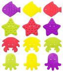 Набор мини-ковриков для ванночки (12 шт.; арт. RBM-010-12) — фото, картинка — 14