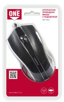 Проводная оптическая мышь Smartbuy ONE 338 (Black) — фото, картинка — 4