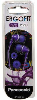 Наушники Panasonic RP-HJE125E-V (фиолетовые) — фото, картинка — 2