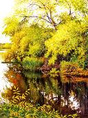 Акварель. Рисуем деревья и листья — фото, картинка — 1