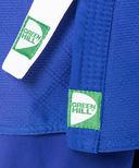 Кимоно для дзюдо MA-302 (р. 5/180; синее) — фото, картинка — 3