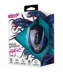 Мышь игровая Partner Rage RM-07 (черно-синяя) — фото, картинка — 1