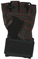 Перчатки атлетические SU-123 (L; чёрные) — фото, картинка — 1