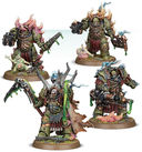 Warhammer 40.000. Death Guard. Lord Felthius & Tainted Cohort. Easy to Build (43-57) — фото, картинка — 2