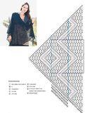 Вязание в тренде. Модные шали, шарфы и палантины. Спицы — фото, картинка — 3