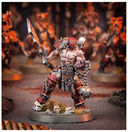 Warhammer Age of Sigmar. Khorne Bloodbound. Slaughterpriest with Hackblade and Wrath-hammer (83-37) — фото, картинка — 3