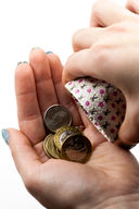 Монетница круглая