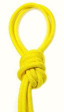 Скакалка для художественной гимнастики Pro 10101 (жёлтая) — фото, картинка — 1