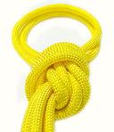 Скакалка для художественной гимнастики Pro 10101 (жёлтая) — фото, картинка — 2