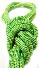 Скакалка для художественной гимнастики Pro 10101 (зелёная) — фото, картинка — 2