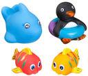 Набор игрушек для купания (4 шт.; арт. ВВ1398) — фото, картинка — 1