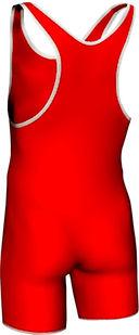 Трико борцовское MA-401 (р. 42; красное) — фото, картинка — 1