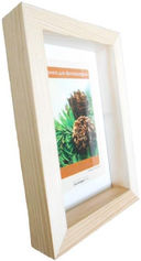 Рамка деревянная со стеклом (21x30 см; арт. Д130) — фото, картинка — 1