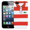 Чехол для iPhone 5/5S Red and White Stripes (красный) — фото, картинка — 1