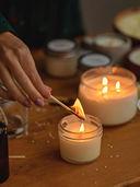 Свеча декоративная ароматизированная